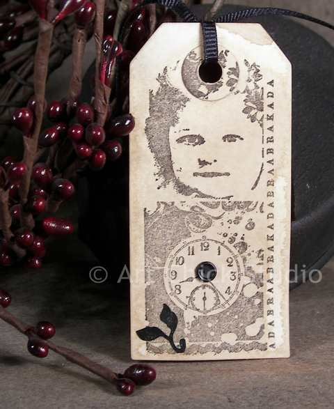 Sweet Face of Time Altered Tag