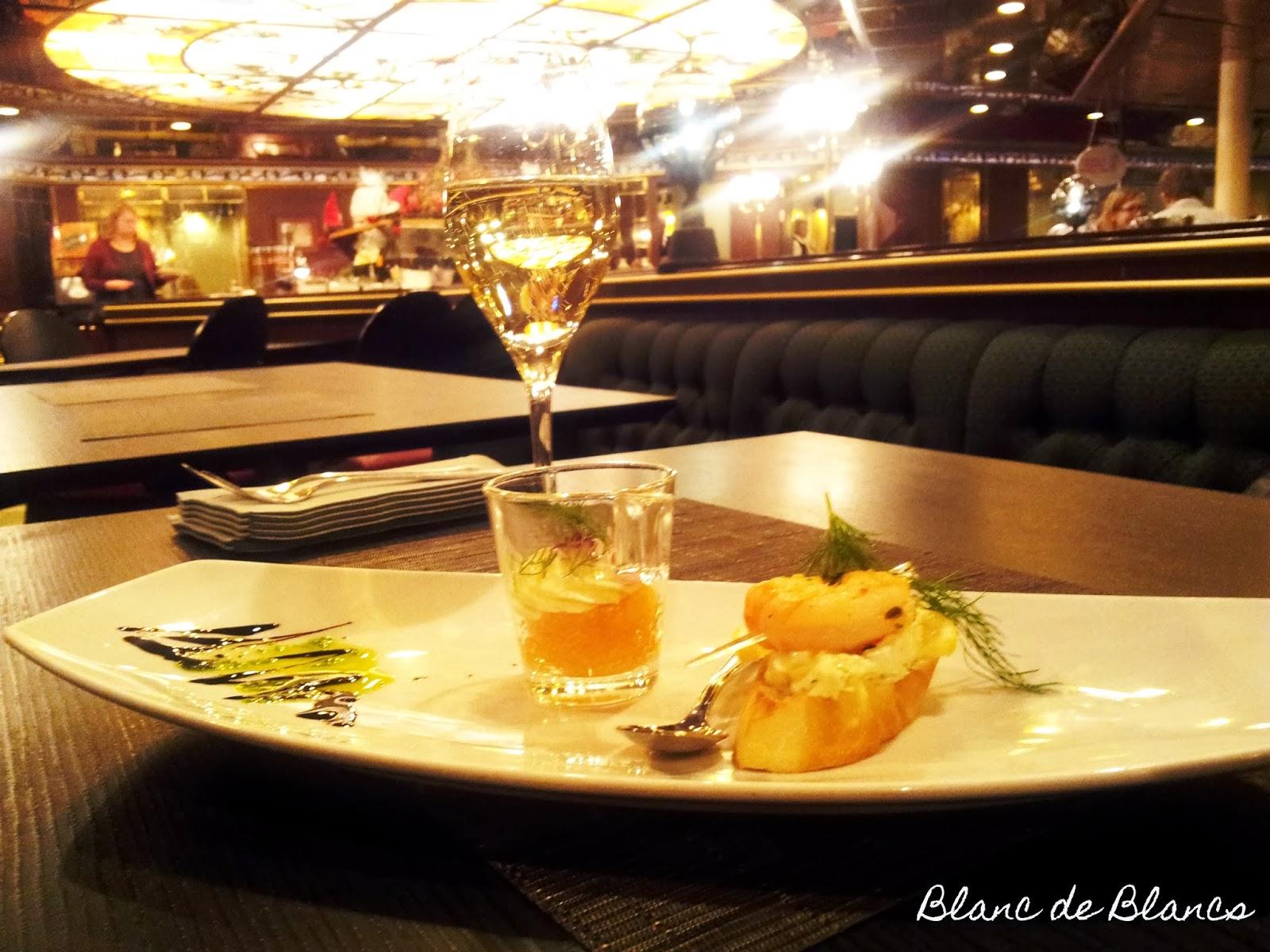 Samppanjaa ja mereneläviä - www.blancdeblancs.fi