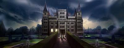 Villa Malfoy nel capitolo di apertura dei Doni della Morte