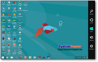Windows 7 menjadi Windows 8