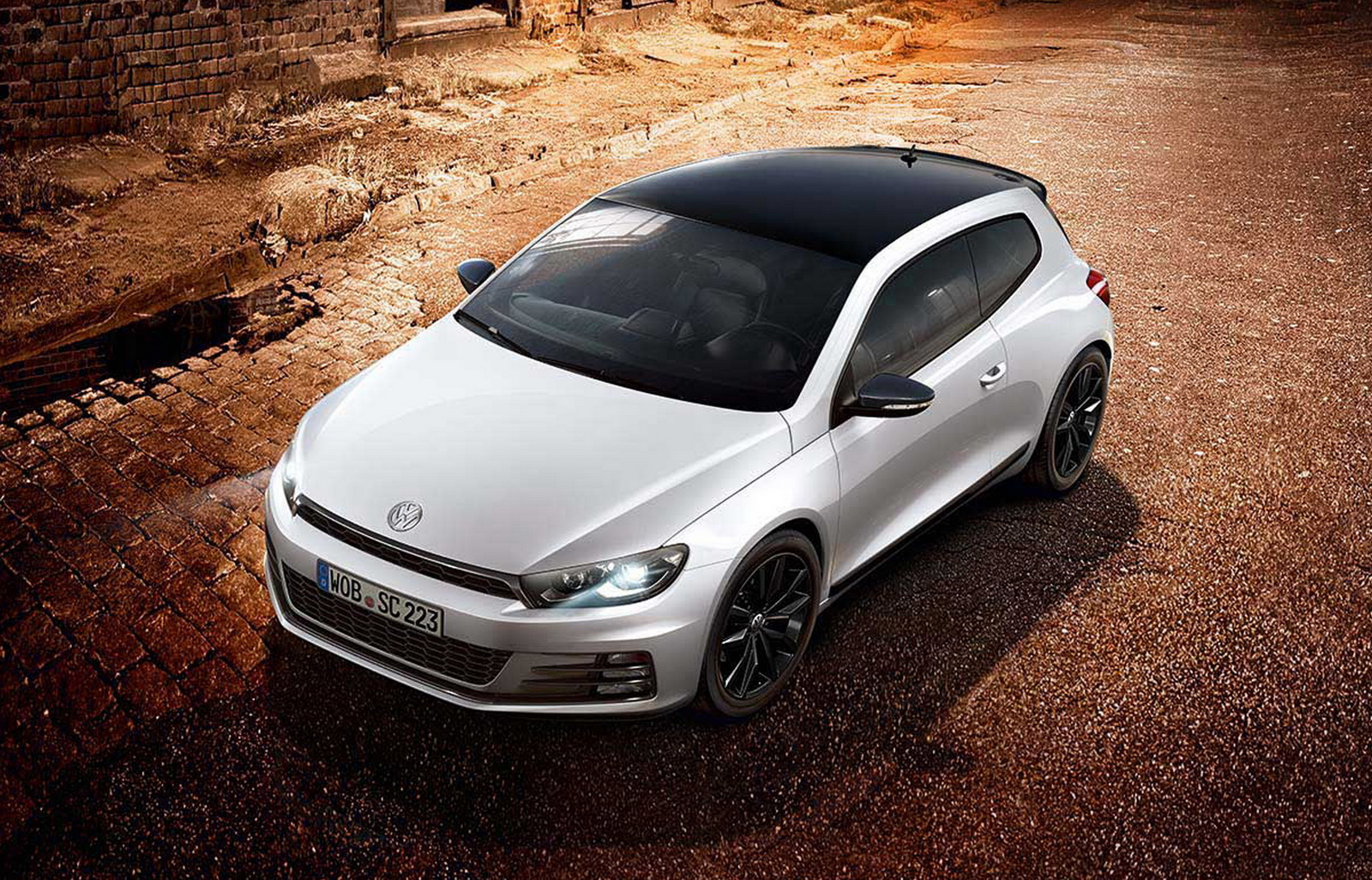 vw scirocco gets revitalized with new black editions. Black Bedroom Furniture Sets. Home Design Ideas