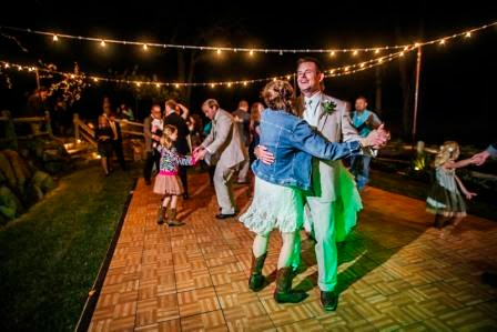Ryan and Leslie, Reception, Dance, Texas Ranch Wedding