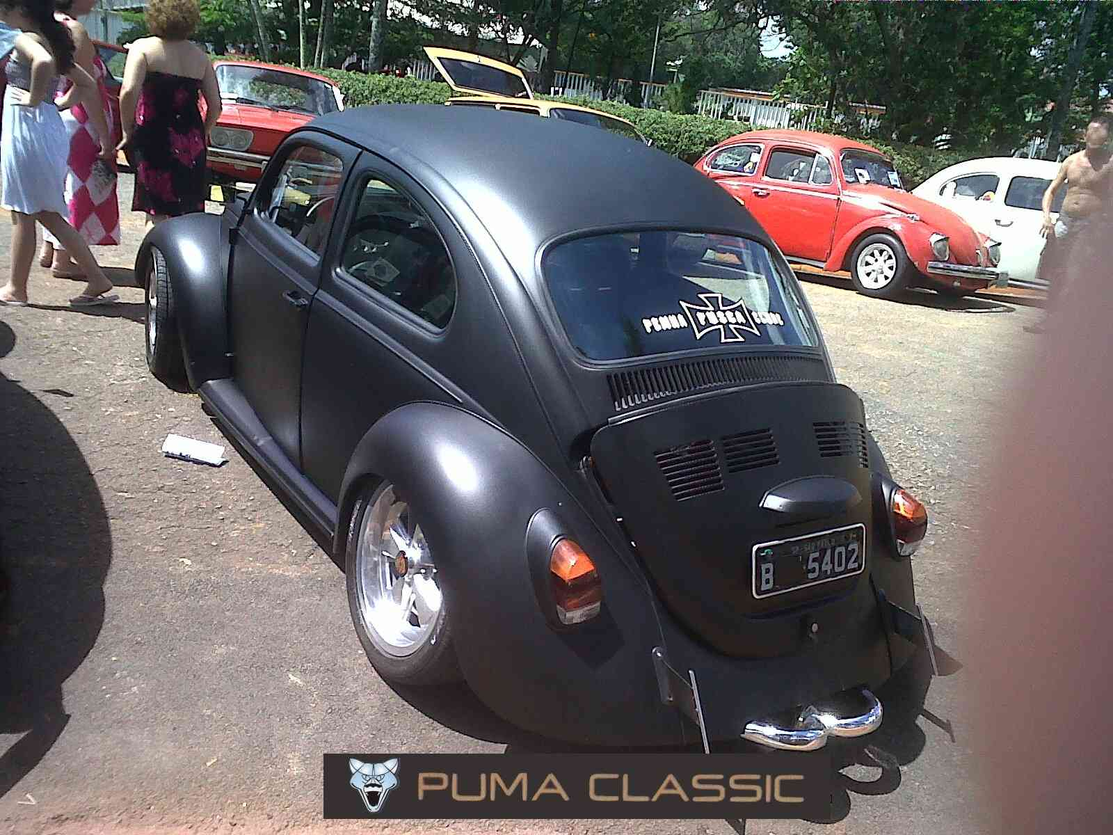Puma Classic: Desrespeito - Placa Preta