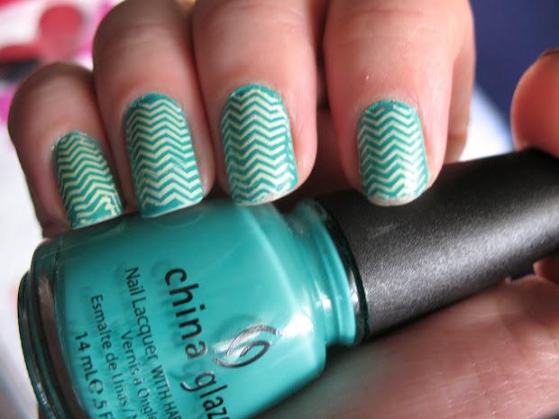 moondancerjen's nails china glaze