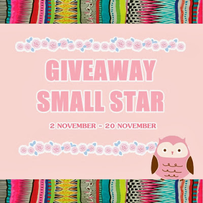 http://isyahsazalee.blogspot.com/2013/11/giveaway-small-star.html