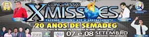 X Congresso de Missões - Participem!!!