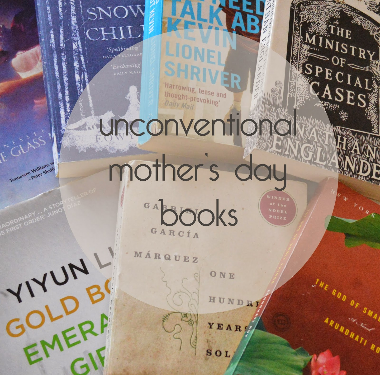 photo, photography, list, mother's day, recommendations, paperback, family centred, literature, suggestions,