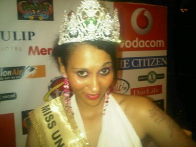 Nelly Alexsandra Kamwelu is Miss Universe Tanzania 2011