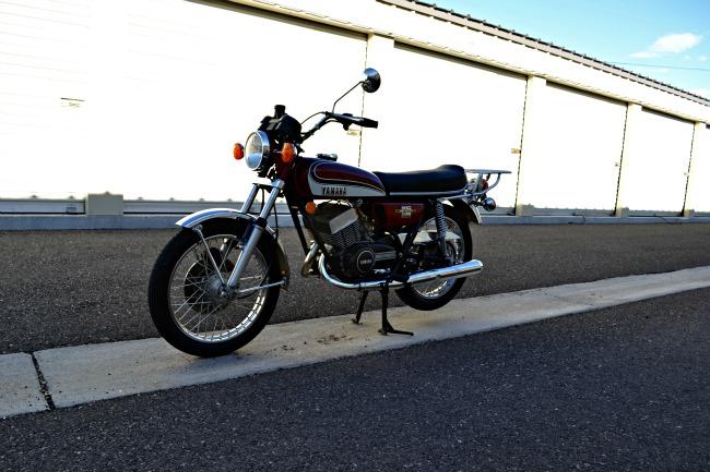 Motorcycle Dave 1973 Yamaha Rd350