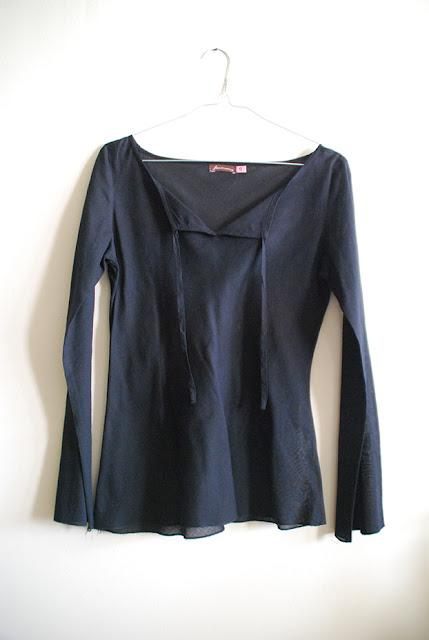 comprar camisola preta