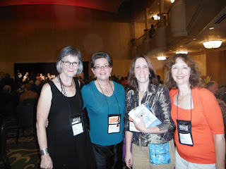 Laurie Stephens, Martha Reed, me, and Annette Dashofy