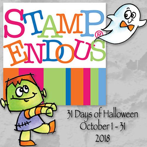 Stampendous Halloween Blog Hop