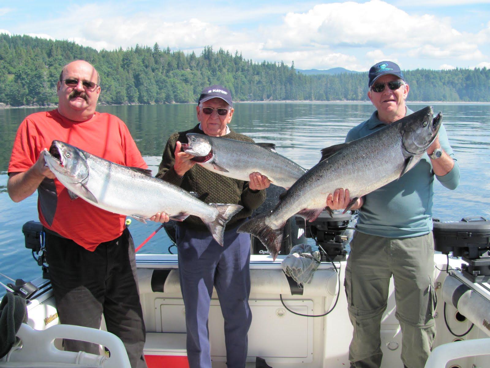 Fishing report sooke fishing adventures fantasic for Vancouver island fishing