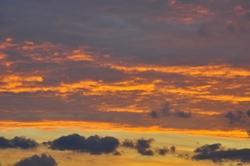 Ferner Himmel am Horizont...