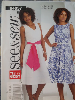 Butterick See & Sew 4957 Dress Pattern