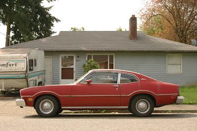 1976 Ford Maverick Fastback.