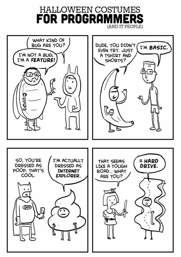 Костюмы программистов