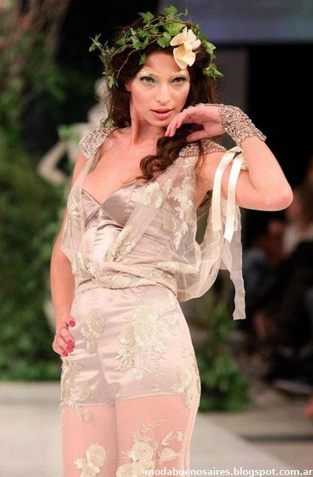 Veronica de la Canal Vestidos primavera verano 2013.