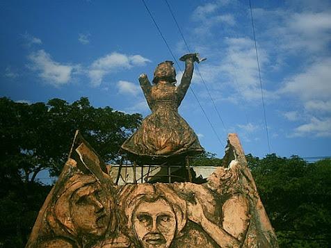 Monumento a las victimas civiles del conflicto