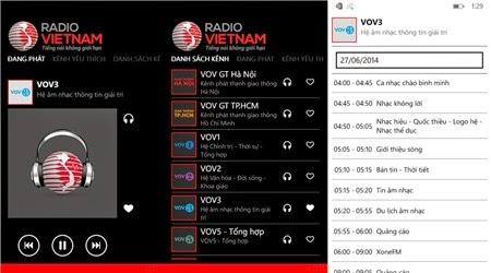 Nghe 53 kênh radio trên Windows Phone