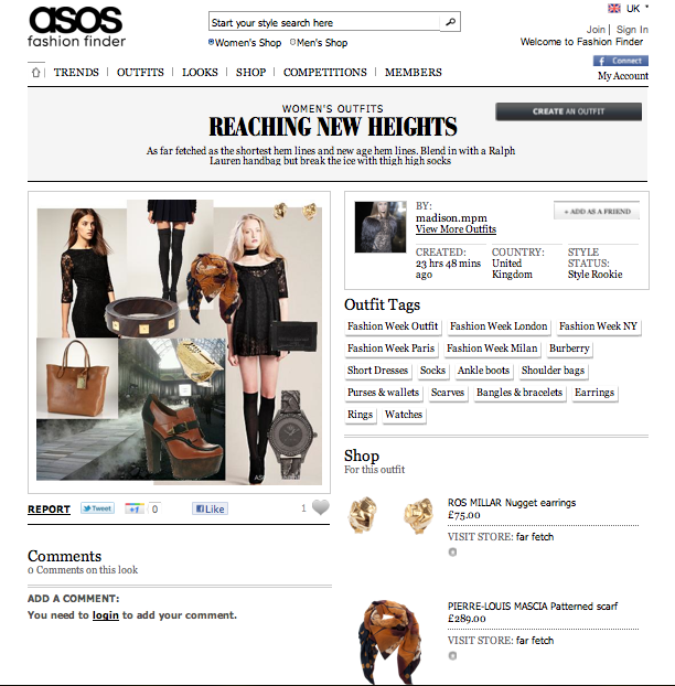 ASOS is actually a leading online retailer based out of the UK. While there are no physical locations or storefronts in the United States, you do have the option to purchase from their US online retail store here: Online shopping for the Latest Cl.