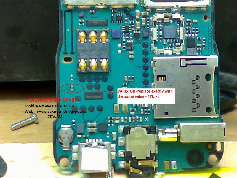 3110c memory ic jumper