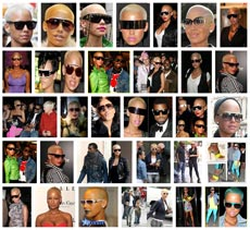 A Google Image Search of Amber Rose - Sunglasses Beast