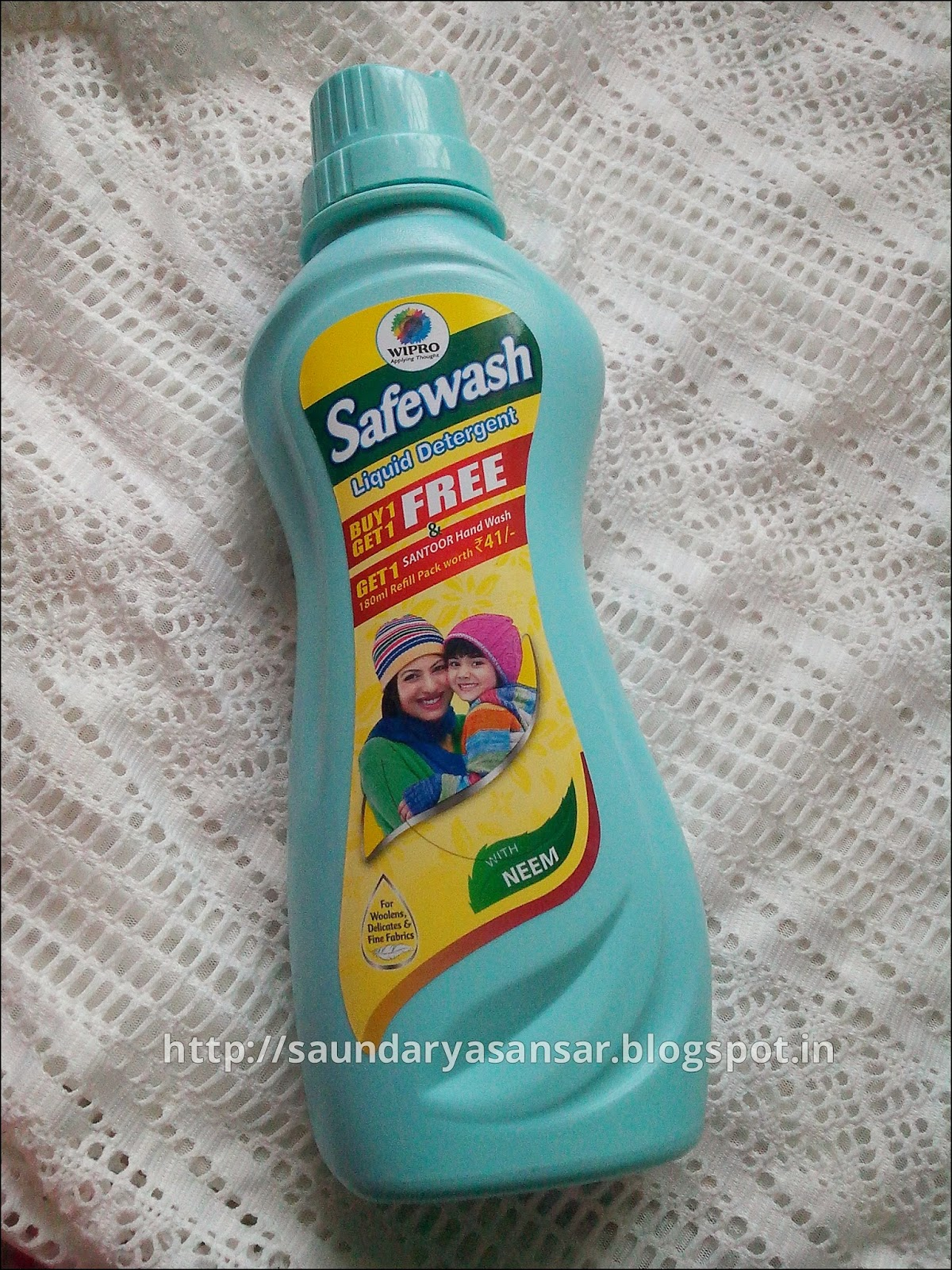 Wipro Safewash liquid detergent Review