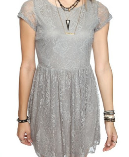 Forever 21: Lace Swing Dress Front