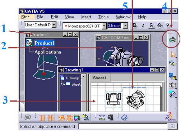 CATIA V5 document