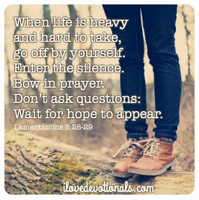 Lamentations 3:28-29 hope pic