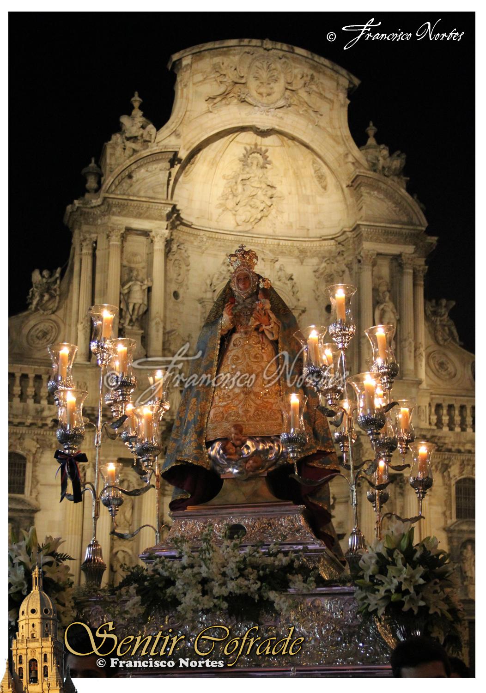 grande Virgen córneo en Murcia