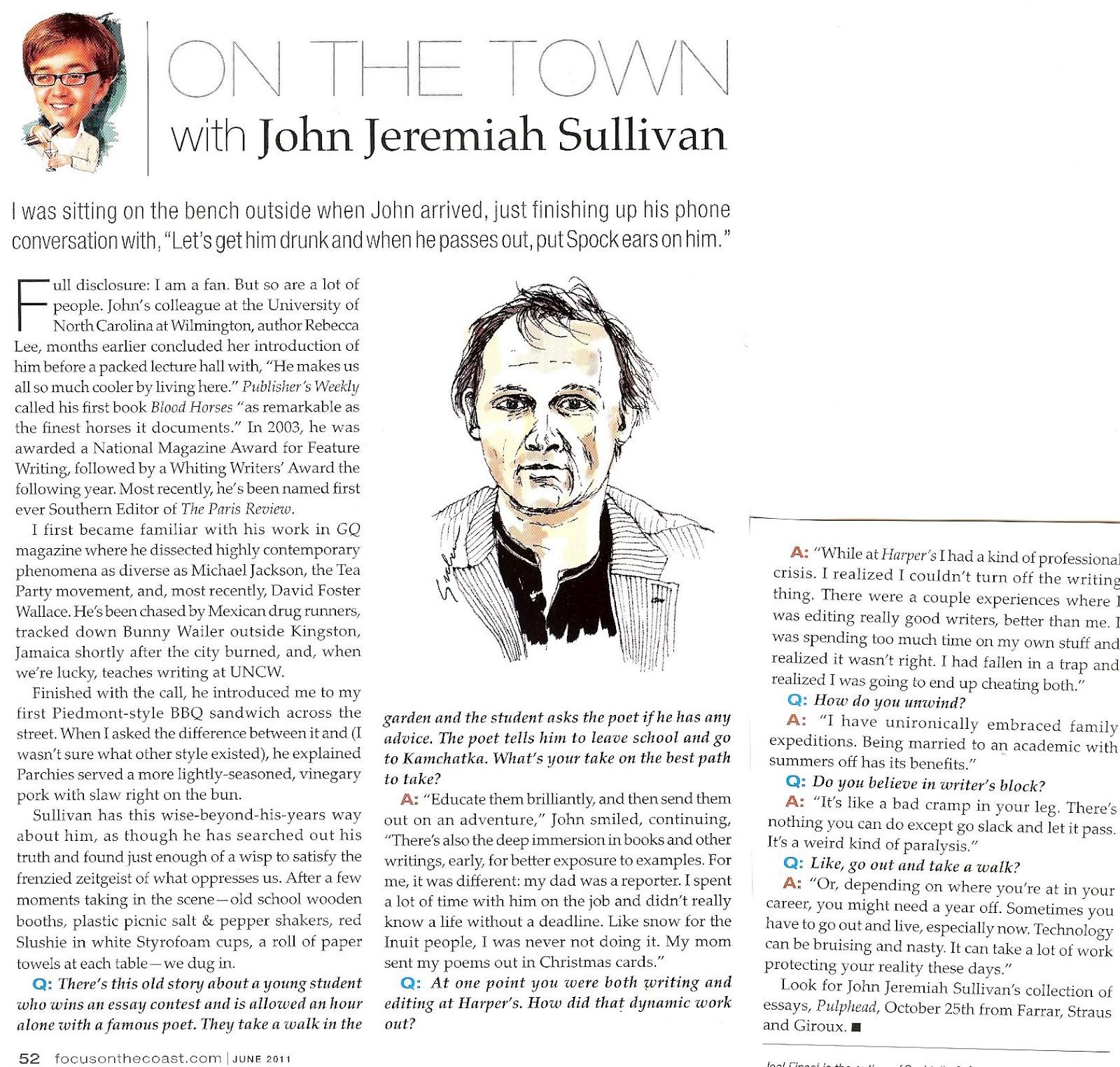 pulphead essays sullivan