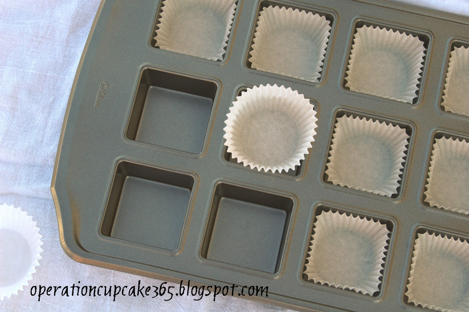how to make square cupcakes