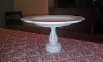 Silky White Elegant Platter (SOLD)