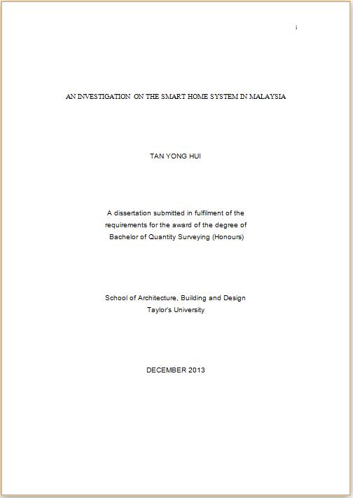 Uf dissertation checklist
