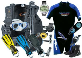 tips membeli peralatan diving