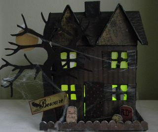Dark side of the net goth and halloween links new for How to make a cardboard haunted house