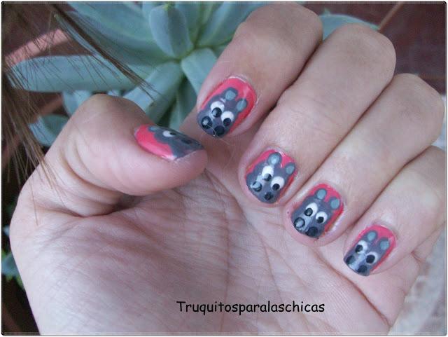 Manicura hipopotamo