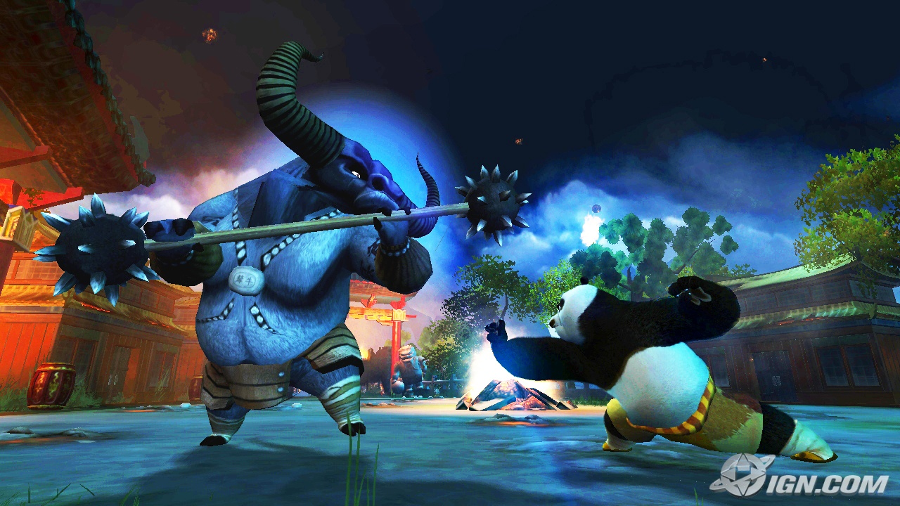 Kung Fu Panda The Game