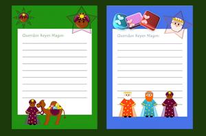 Cartas para los Reyes Magos y Papá Noel