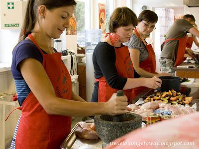 Warsztaty kulinarne w Akademii Kurta Schellera