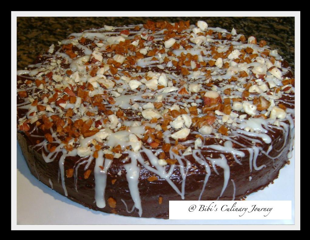 Hazelnut Torte With Raspberry Jam Recipe — Dishmaps