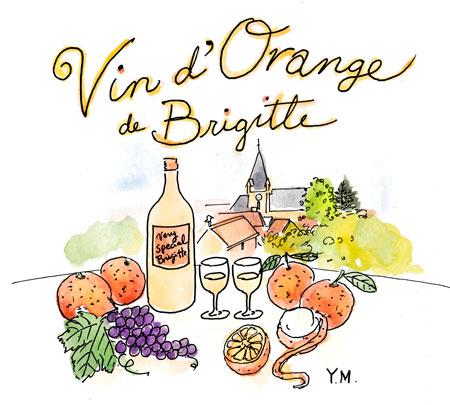 Vin d'Orange de Brigitte by Yukié Matsushita