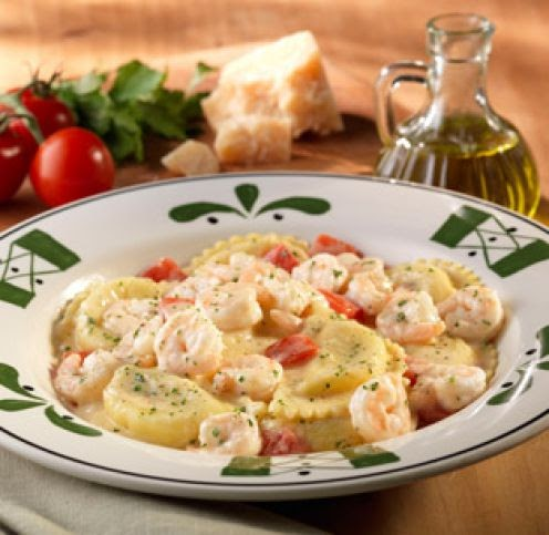 Olive garden copycat recipes stuffed mezzaluna pastas for Mezzaluna ravioli olive garden