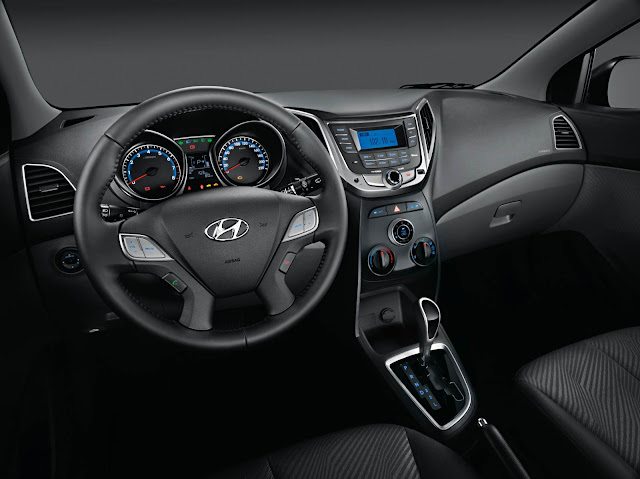 Hyundai HB20 Sedan - interior