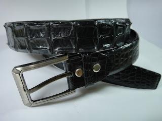 thắt lưng da cá sấu L05