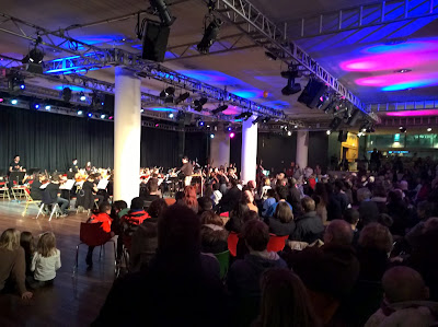 Sistema in action - a capacity audience enjoys the South Bank Centre's showcase