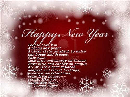 Friendly Happy New Year Poems For Friends 2014