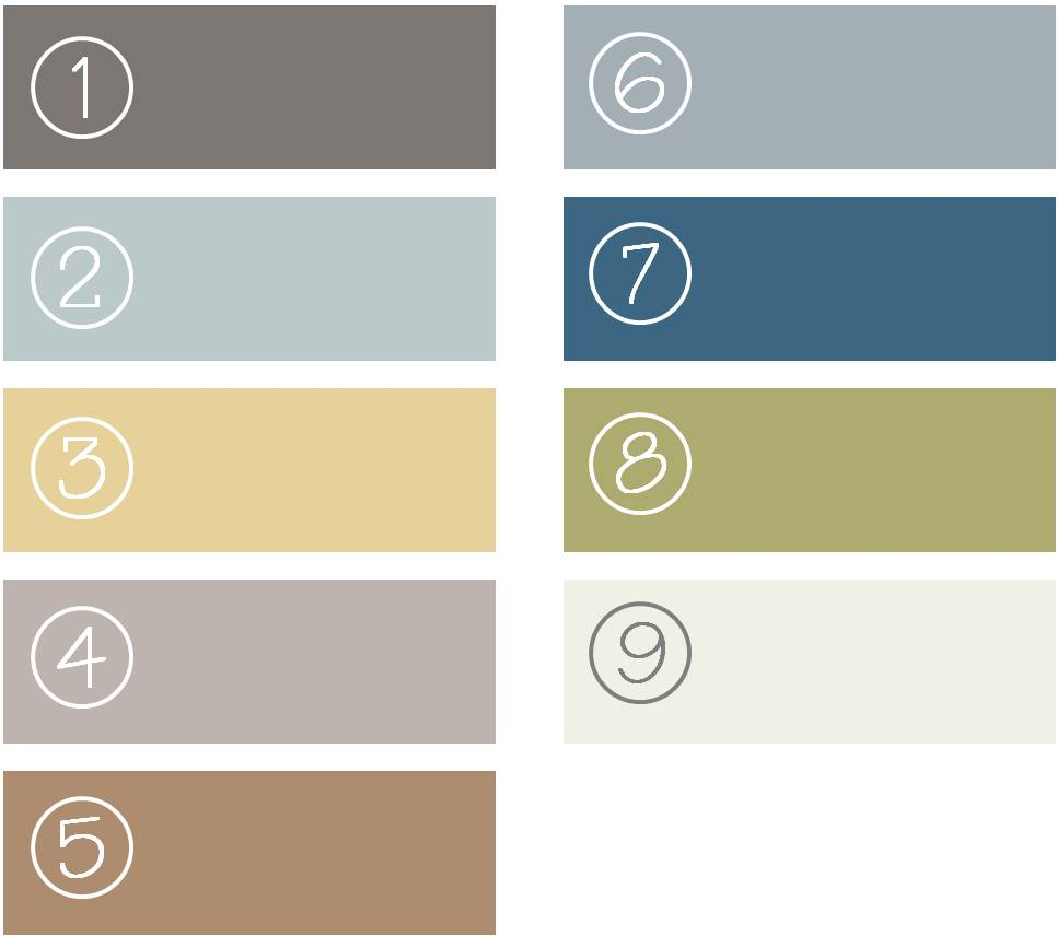 Picking the palette march design house the old for Color palette for painting